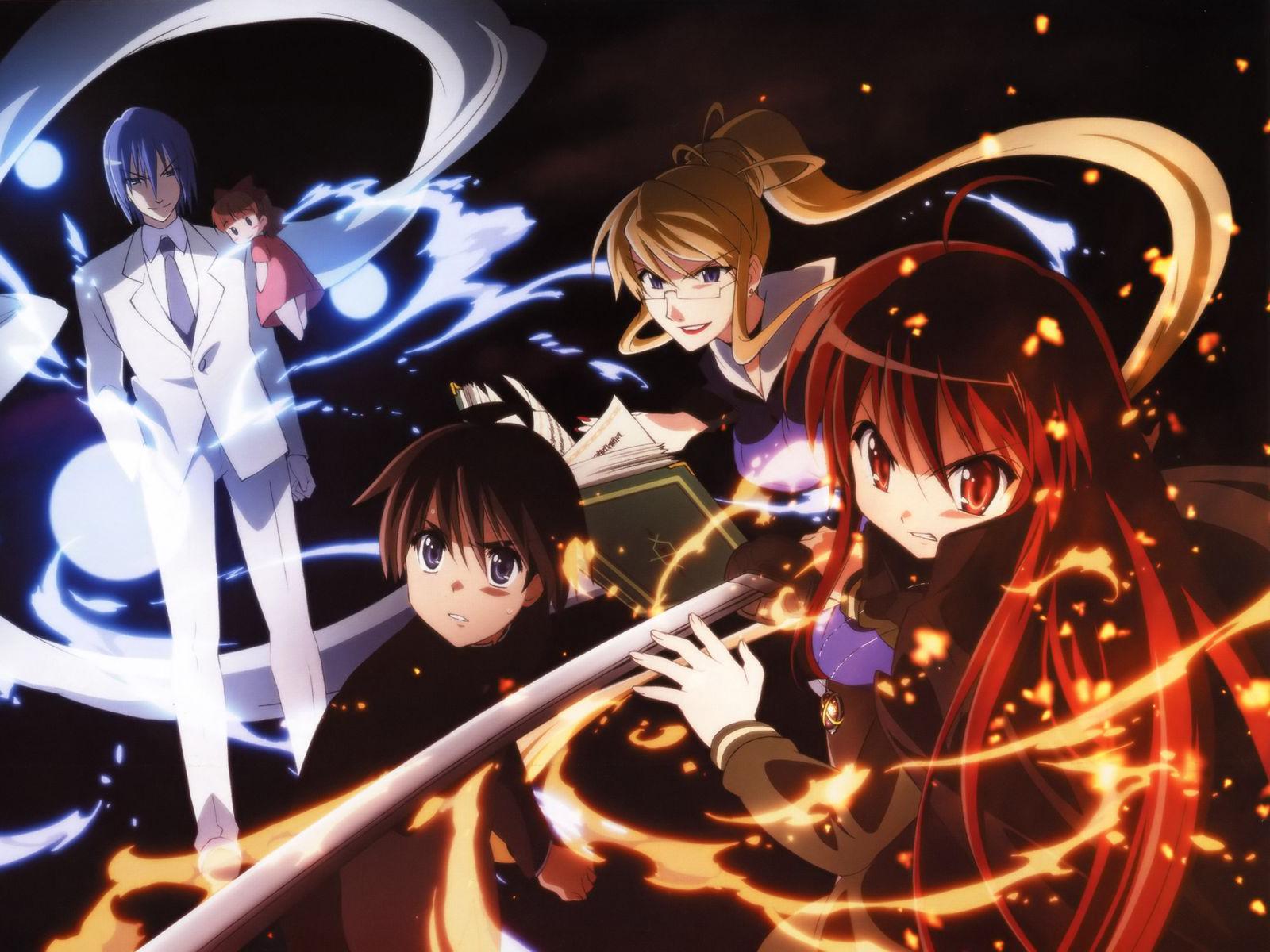 Reto 30 días anime!! Shakugannoshana